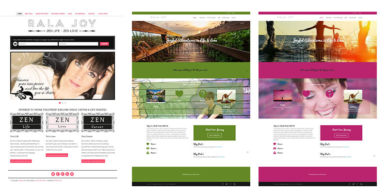 Rala Joy Website Design